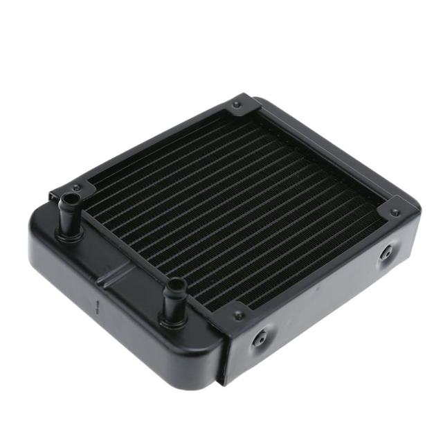 PC Water Cooling Radiator 120mm 18 Tubes Aluminum Computer Water Cooling Radiator PC Heat Sink For Water Cooling System