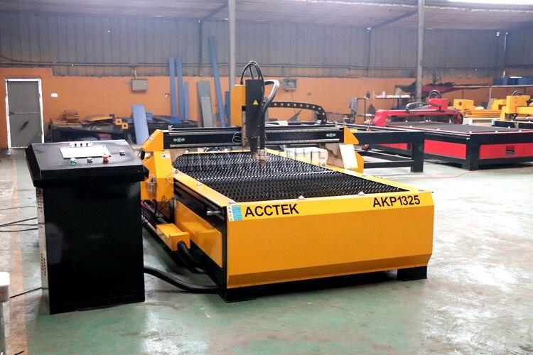 Découpeuse de plasma de CNC 1325 pour l'équipement d'acier inoxydable de coupe de plasma en métal/acctek avec 63A 100A 120A - 5