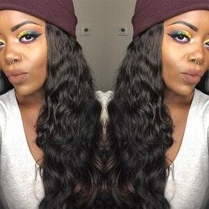 Image 4 - Модные бразильские натуральные волосы Berrys, свободные, глубокие, 4 пряди, 100% необработанные человеческие волосы, плетеные, 10 28 дюймов, натуральный черный цвет