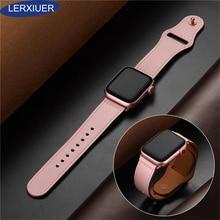 цены на Leather Watchband For apple watch band strap apple watch 4 3 iwatch band 42mm/38mm 44mm/40mm replacement Correa wrist bracelet  в интернет-магазинах