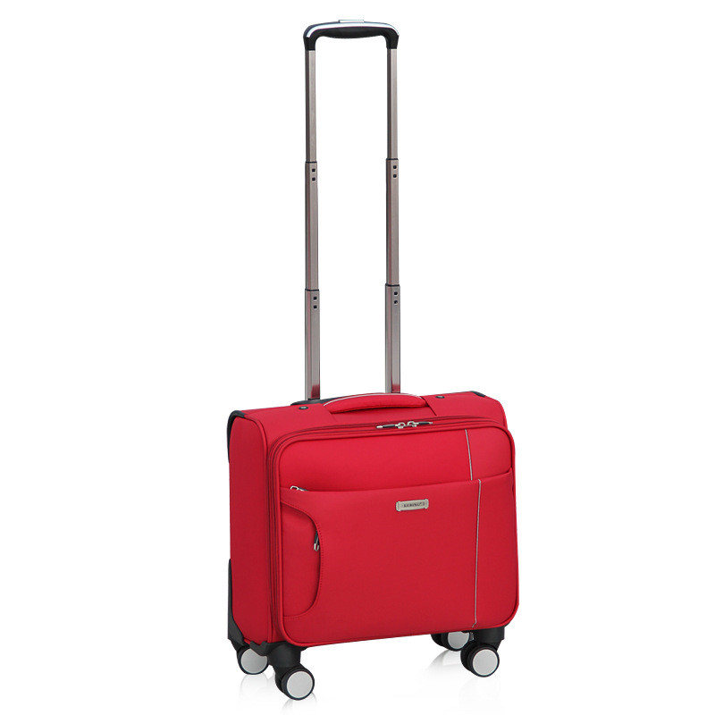 Trolley-Case Wheel-Luggage Valise 16--Inch Business-Boarding-Box Fashion Gift Trip Leisure-Bag
