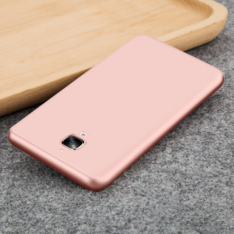 For Oneplus 3T Case A3003 Silicone Full Protection Back Phone Cases For Oneplus 3 Cover A3000 One Plus 3 T Capa TPU Soft Matte
