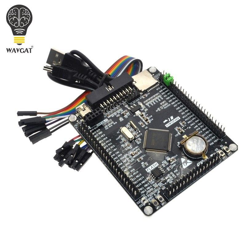 Frete grátis STM32F407VET6 Cortex-M4 STM32 aprendizagem placa de sistema mínimo placa de desenvolvimento placa de núcleo ARM
