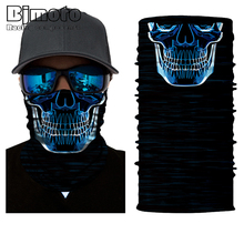 Motorcycle Biker Face Sun Mask Balaclava Anti-UV Head Fishing FaceMask Shield Headwear Bandana Neck Tube Scarf Skull Head 2016 new fashion women mens multifunctional headwear skull bandana helmet neck face head mask halloween turban