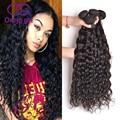 Peruvian Virgin Hair Natural Wave 4 Bundles Wet and Wavy Hair Peruvian Hair 7A Unprocessed Remy Curly Weave Human Hair Bundles