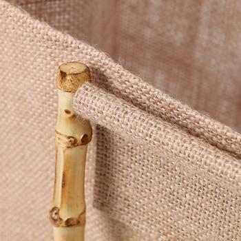 Arsmundi High-Quality Women Men Handbags Cotton Foldable Reusable Shopping Bag Rubbing Cart Eco Shoulder Organization Bag 4