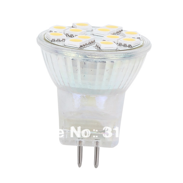 Lâmpadas Led e Tubos 12 pcsof 5050 smd ac/dc10-30v Key Word : Mr11 12led Bulb Light