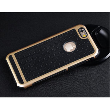Ultra Thin Shockproof Rubber PC and TPU Hybrid Phone Case Cover For Apple iPhone 5S SE 6 6S 6 plus High Quality Shell EC882
