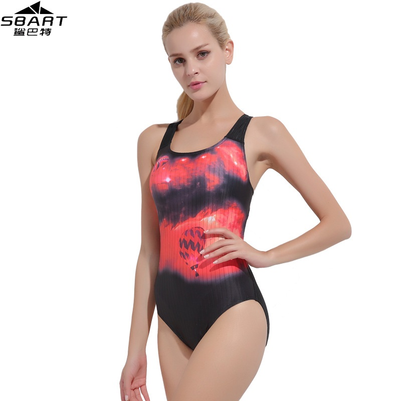 2529093d65924 SBART 2018 Professional Competition Racer Back Swimwear Women One Piece  Swimsuit For Girls Swimming Suit Women s Swimsuits 2XL-in Body Suits from  Sports ...