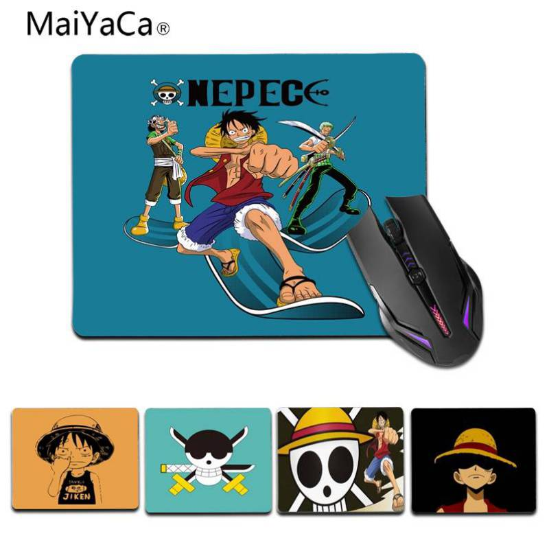 Maiyaca Personalized Cool Fashion One Piece Monkey D Luffy Mouse Pad Size 180x220x2mm And 250x290x2mm Small Mousepad We Take Customers As Our Gods Mouse & Keyboards