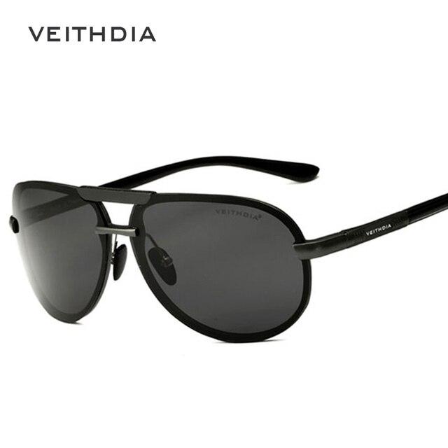 2018 VEITHDIA Aluminum Magnesium Men Sunglasses Polarized Classic Sun Glasses Male Eyewears Accessories gafas Oculos de sol 6500 4