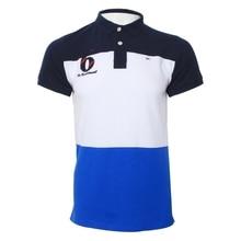 b28b424375 Estilo verão Men 100% Algodão de manga curta Polo Camisas da Cor do  Contraste Patchwork Marca Eden Park Roupas Homme Camisa Polo.