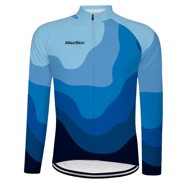 2019 breathable Racing Team Cycling six Jersey Long Sleeve motocross mtb bicicleta Bike camisa Ciclismo Maillot clothing 6565 in Cycling Jerseys from Sports Entertainment