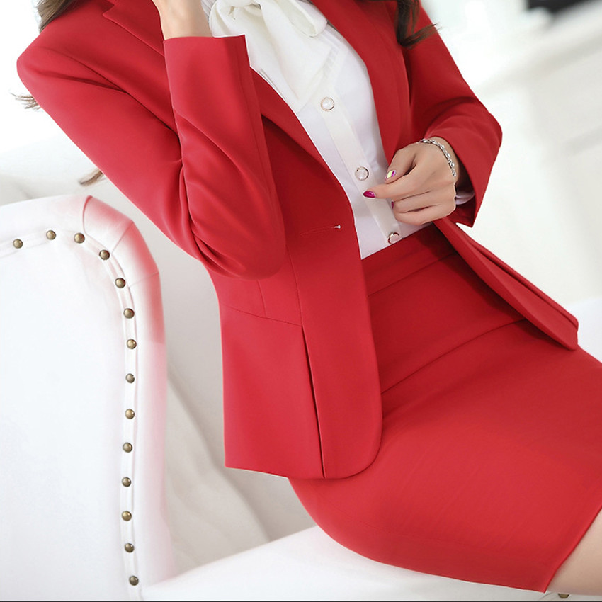 New-Hot-Fashion-Women-Ladies-Autumn-spring-Dress-Suits-Slim-Stitching-Pocket-bussiness-work-wear-Sets (5)