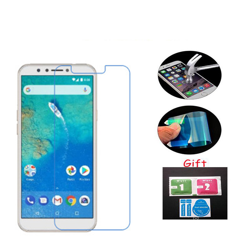 3PCS For GENENRAL MOBILE GM8 Glass Screen Protector Nano Soft Tempered Explosion proof Clear protective film Guard Cover(China)