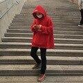 VETEMENTS негабаритных Толстовки мужчины женщины Сеул Корея марка Хип-Хоп скейтборд канье уэст Кофты верховный vetements Толстовки