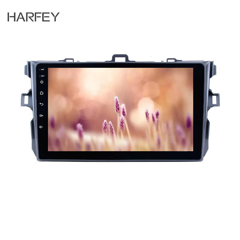 Harfey 9 GPS Multimedia Navigation System Android 8.1 for Toyota Corolla Pure  2006-2012 with 3G WiFi Radio Tuner Bluetooth newHarfey 9 GPS Multimedia Navigation System Android 8.1 for Toyota Corolla Pure  2006-2012 with 3G WiFi Radio Tuner Bluetooth new