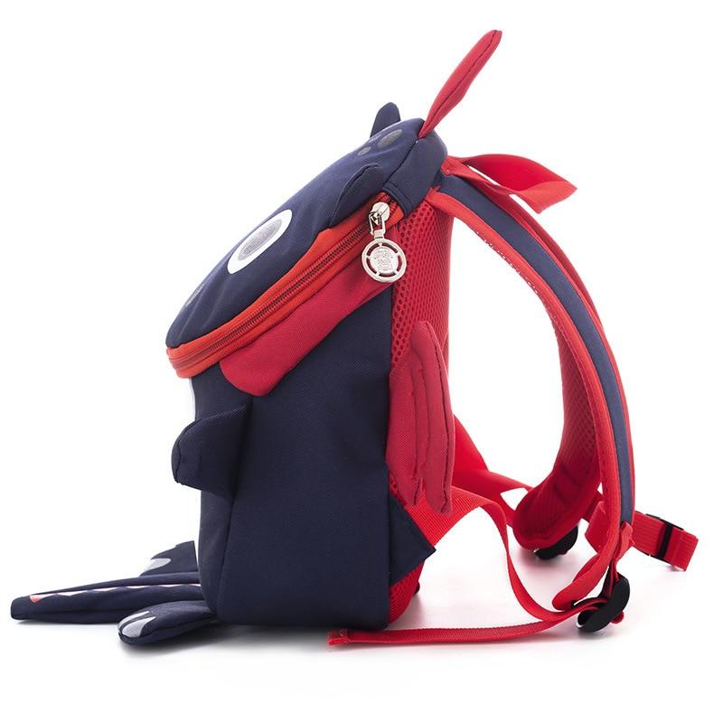 BAIJIAWEI Infant Baby Bag Anti-lost Cute Dinosaur Backpack Boys Girls 1-5 Years Old Kindergarten Ba - 33019266137