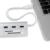 Acasis HS0023 Alumínio USB 3.0 Hub + leitor de Cartão 5 HUB Splitter Adaptador Conversor USB3.0 5gpbs Combo Para SD, micro sd/tf, cartão CF