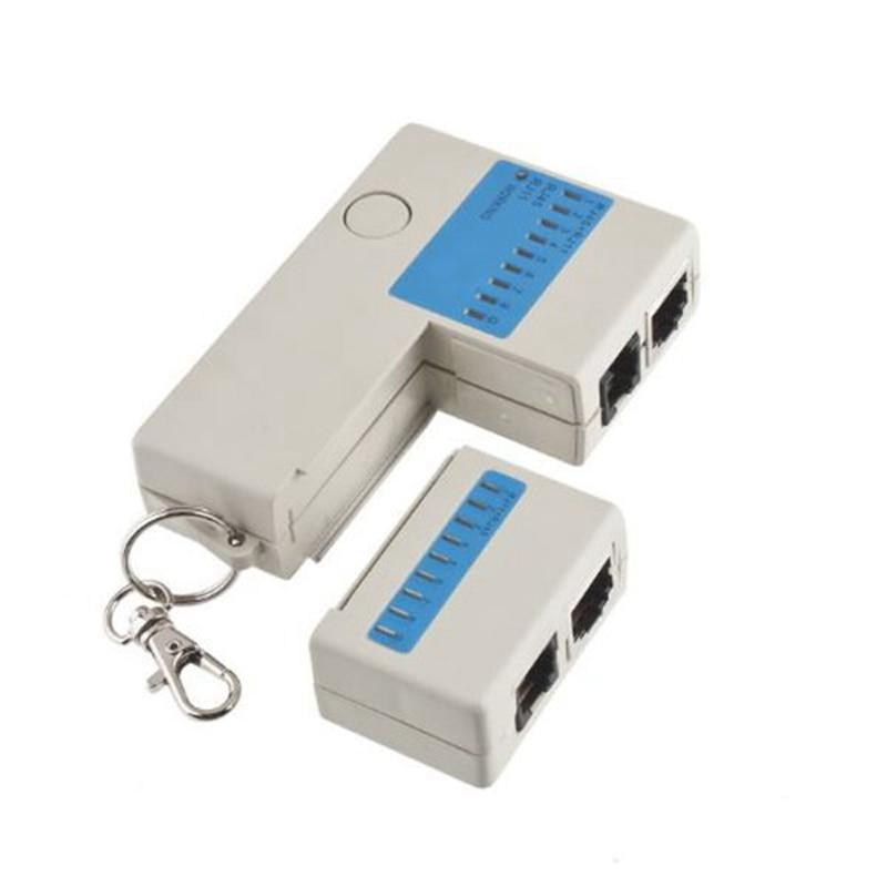 все цены на Mini Network Cable Tester RJ45 RJ11 Cat5 Network LAN Tester Cable Tester Detector Line Finder онлайн