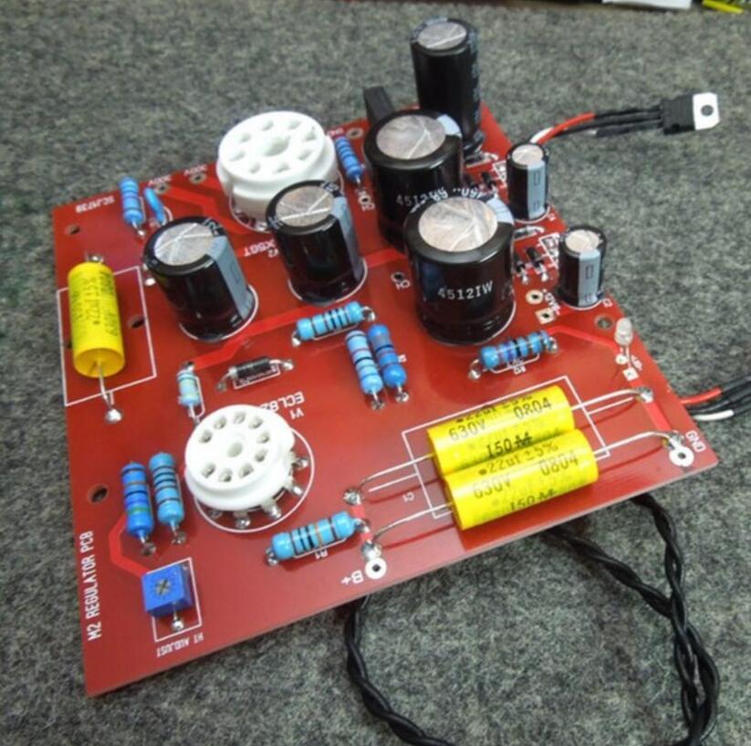 Carte amplificateur AudioNote L2 tube électronique alimentation à tension réglable au niveau de la bile pour amplificateur hifi G4 001-in Amplificateur from Electronique    1