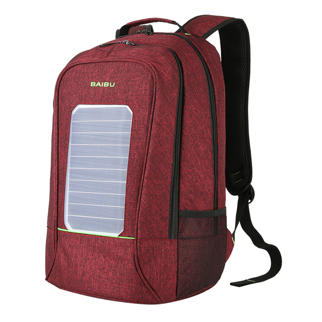 Solar Backpack USB Charger  5