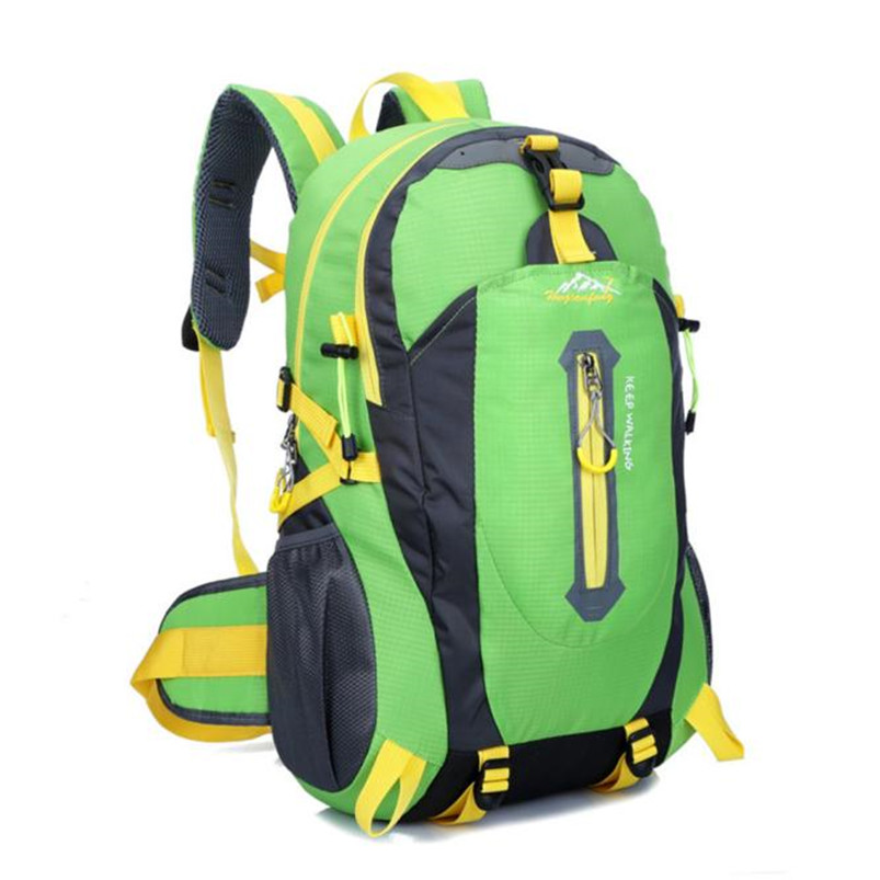 Outdoor Backpack Bag Hiking Camping Waterproof Nylon Travel Luggage Rucksack Backpack Bag Bicycle Cycling Equipment #5O08-4 (1)