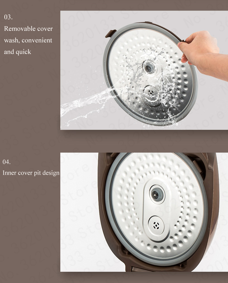 arroz 4l bolo mingau cozinhar 3d aquecimento
