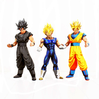25 31cm Dragon Ball Z black hair Son Goku Gold hair Son Goku and Vegeta Dragonball Super Saiyan action figure model toy for gift