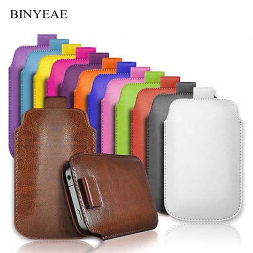 Lederen Etui Coque Voor Vertex Impress Klik/stad/klik Nfc/eagle 3g 4g Pocket Touw Holster Tab Cover Accessoires Phone Bag Case