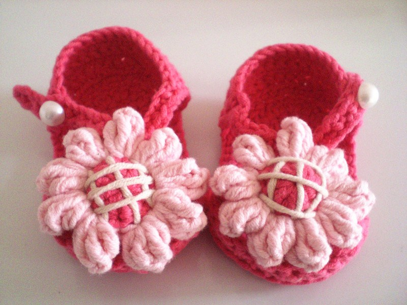 Pure Handmade Crochet Baby kids new Shoes footwear for