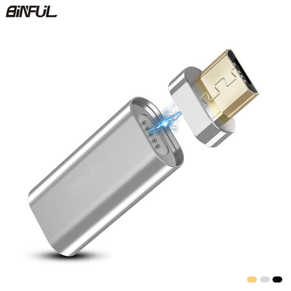 Micro USB Mini Magnetic Adapter Converter For Samsung