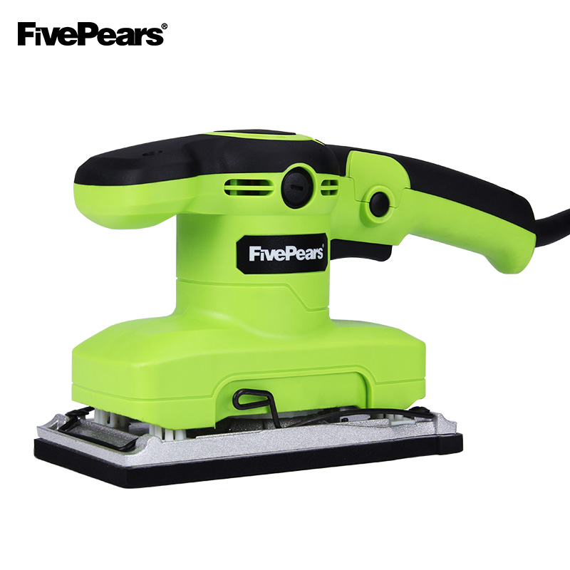 FIVEPEARS 320W 14000rpm Sander Machine Electric Finishing Sander Vibration Grinding Woodworking Buffing Polishing Sanding 200w multifunctional electric sander sanding machine woodworking for home decoration polishing grinding