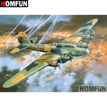 HOMFUN 5D DIY Diamond Painting Full Square/Round Drill Aircraft fight Embroidery Cross Stitch gift Home Decor Gift A07969 homfun 5d diy diamond painting full square round drill aircraft scenery embroidery cross stitch gift home decor gift a08494