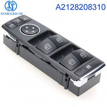 Yeni A2128208310 2128208310 Elektrikli Master Güç Kontrol Cam Anahtarı Mercedes Benz C E Sınıfı W204 W212