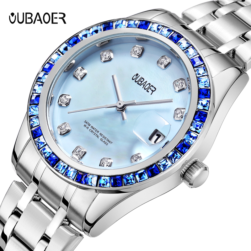 Relogios Femininos Fashion Brand Luxury calendar Quartz-watch Ladies Watch women Gold Rhinestone Bracelet Watches women meg schneider budget weddings for dummies