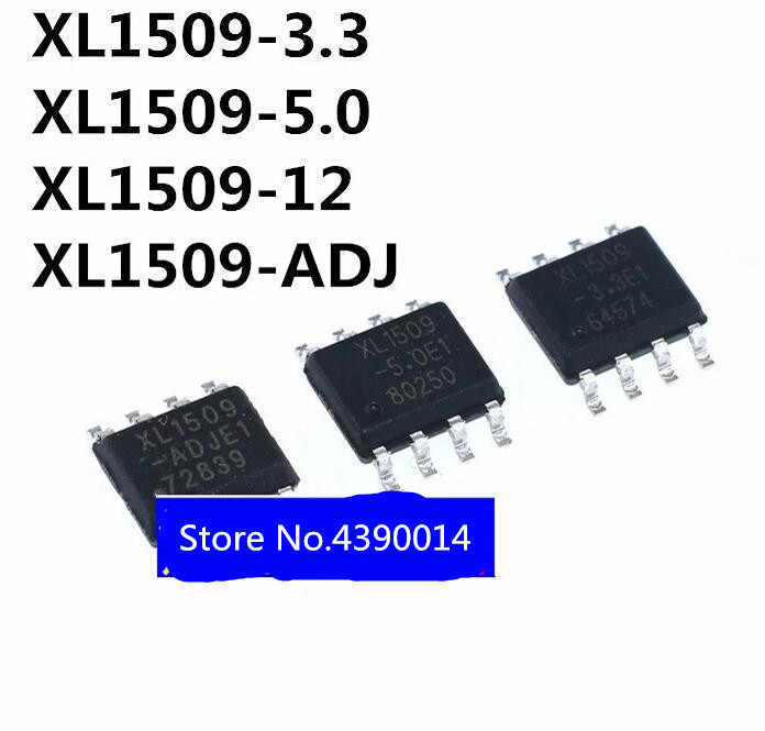 100 шт./лот XL1509 3.3E1 5.0E1 12E1 SOP8
