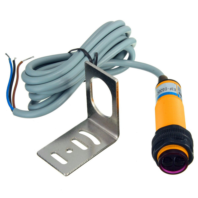E3F-DS30C1 300mA 0.5K HZ Adjustable Infrared Proximity Switch Photoelectric Detect Sensor NPN Connections Counter Best Price thyssen parts leveling sensor yg 39g1k door zone switch leveling photoelectric sensors