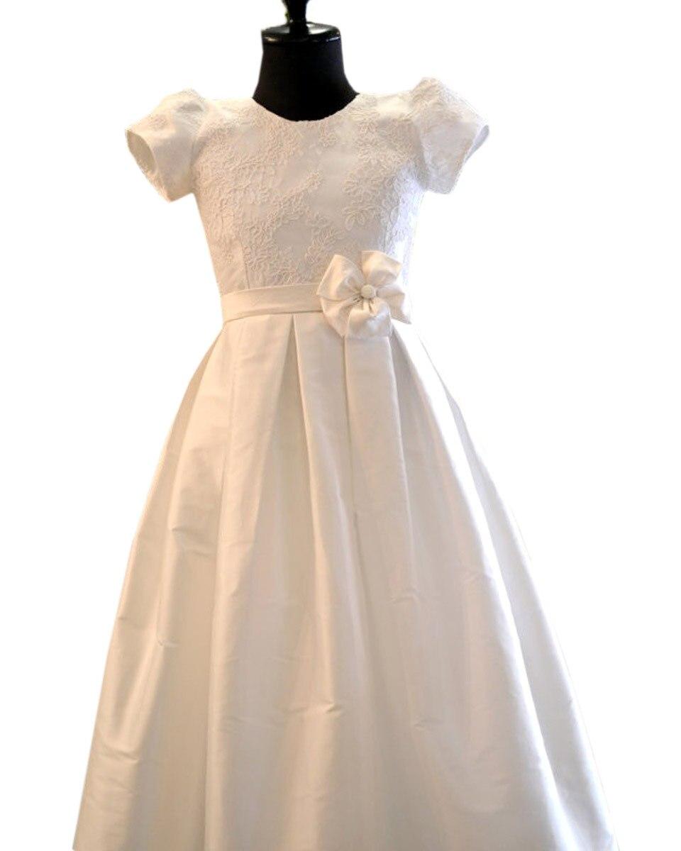 ФОТО Flower Girl Dress White Ivory Tulle Wedding Dress for Little Girl Birthday Baby and Toddler Tutu Dress Princess Vestidos
