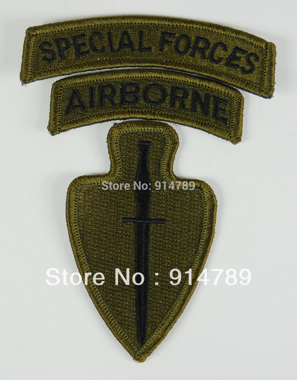 US ARMY SPECIAL OPERATIONS COMMAND AIRBORNE ARMBAND PATCH-32655