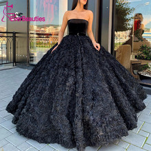 Luxury Prom Dress Long 2020 Elegant Sweetheart Ball Gown Dub