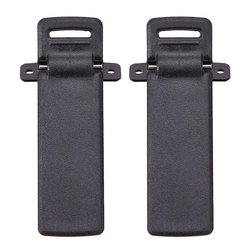 2Pcs Walkie Talkie Belt Clip For Baofeng UV-5R UV-5RA UV-5RB UV-5RC UV-5RD UV-5RE 5RE Two Way Radio Accessories High Quality