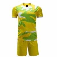 17/18 new arrival męskie koszulki piłkarskie drużyny sportowej dres dorosłych DIY kamuflaż puste soccer jersey tanie koszulki piłkarskie