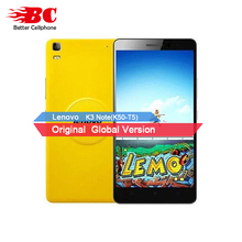 Original Lenovo K3 Note K50-T5 MTK6752 Octa Core FDD LTE 4G 2G RAM 16G ROM 5.5 pouce FHD 1920×1080 P 13MP 3000 mAh Android6.0 téléphone