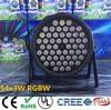 54x3W Led Par DJ Par LED RGBW Wash Disco Light DMX Controller Effect Free Shipping