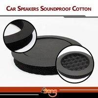 Factory Direct Sales 1Pc Car Auto Truck Automobile Sound Insulation Speaker Soundproof Cotton Self Adhesive Black
