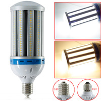10pcs outdoor IP65 waterproof high power LED Corn Light 55W 65W 162 leds 5730 AC85 265V E27 E40 High Bay Yard Garden Corn Lamp
