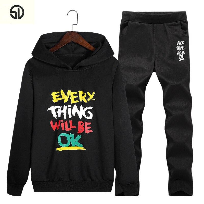 Fashion Mens Sweatshirts Sweat Suit Brand Clothing Mens Tracksuits Jackets Moleton Mascu ...
