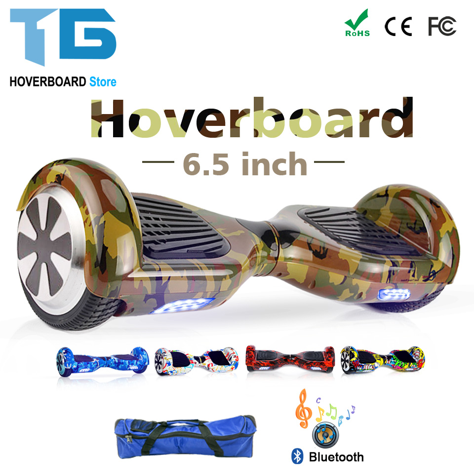 Drop Shipping 6.5 Inch Hoverboard Electrico Self Balancing Electric Scooter Hover Board Overboard  Electrique For Kids Adults 10 inch electric scooter bluetooth hoverboard strong power remote control for aldut high quality hover board free shipping