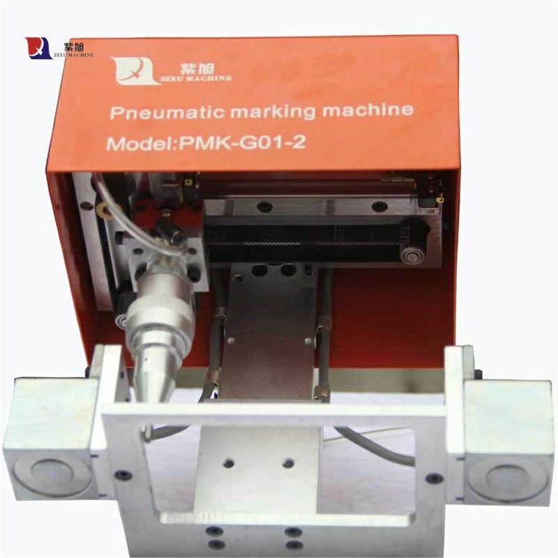 Označení sériových čísel na kovovém CNC pneumatickém - Zařízení na obrábění dřeva - Fotografie 2